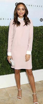 485bf5f721245b Women's PINK Bunny Collared Dress Victoria Beckham for Target Size Medium M  | eBay