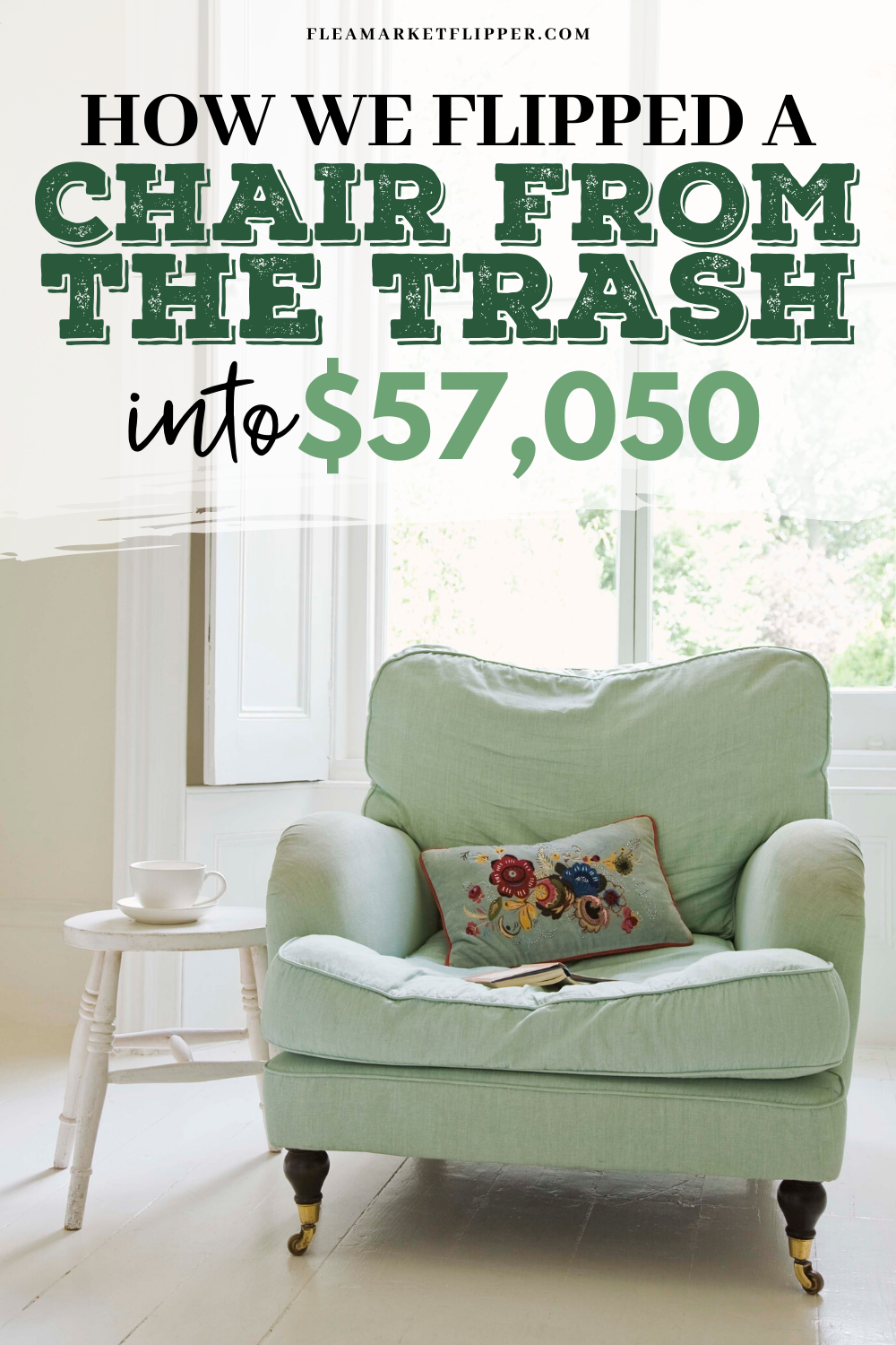 How We Flipped A Chair From The Trash Into 57 050 So Far In 2020 Flipping Furniture Diy Projects To Sell Things To Sell