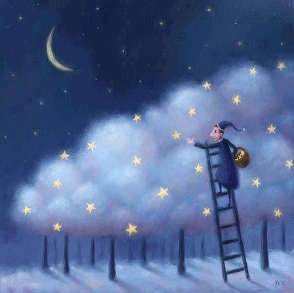 Io vivo fra le nuvole La realtà non è per me La gente dice che