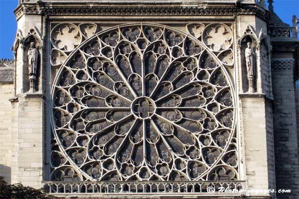 Rosace de Notre Dame de Paris