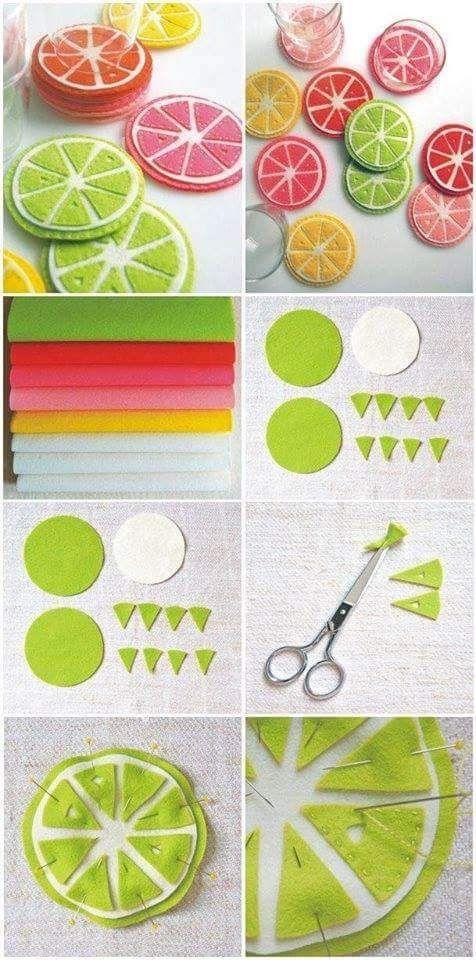 Ideas creativas y manualidades Fieltro Pinterest Manualidades - ideas creativas y manualidades