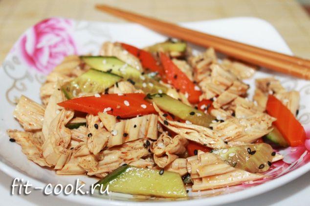 Салат из соевой спаржи по-китайски