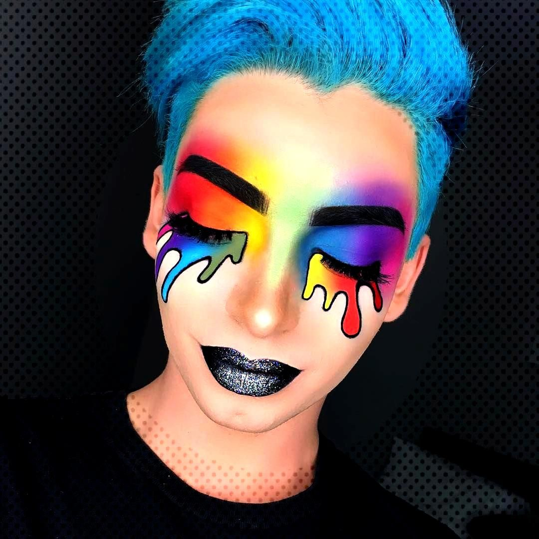 Taste the rainbow���� • • • - Foundation: @marcbeauty re(Marc)able - Brows: @inglot_c