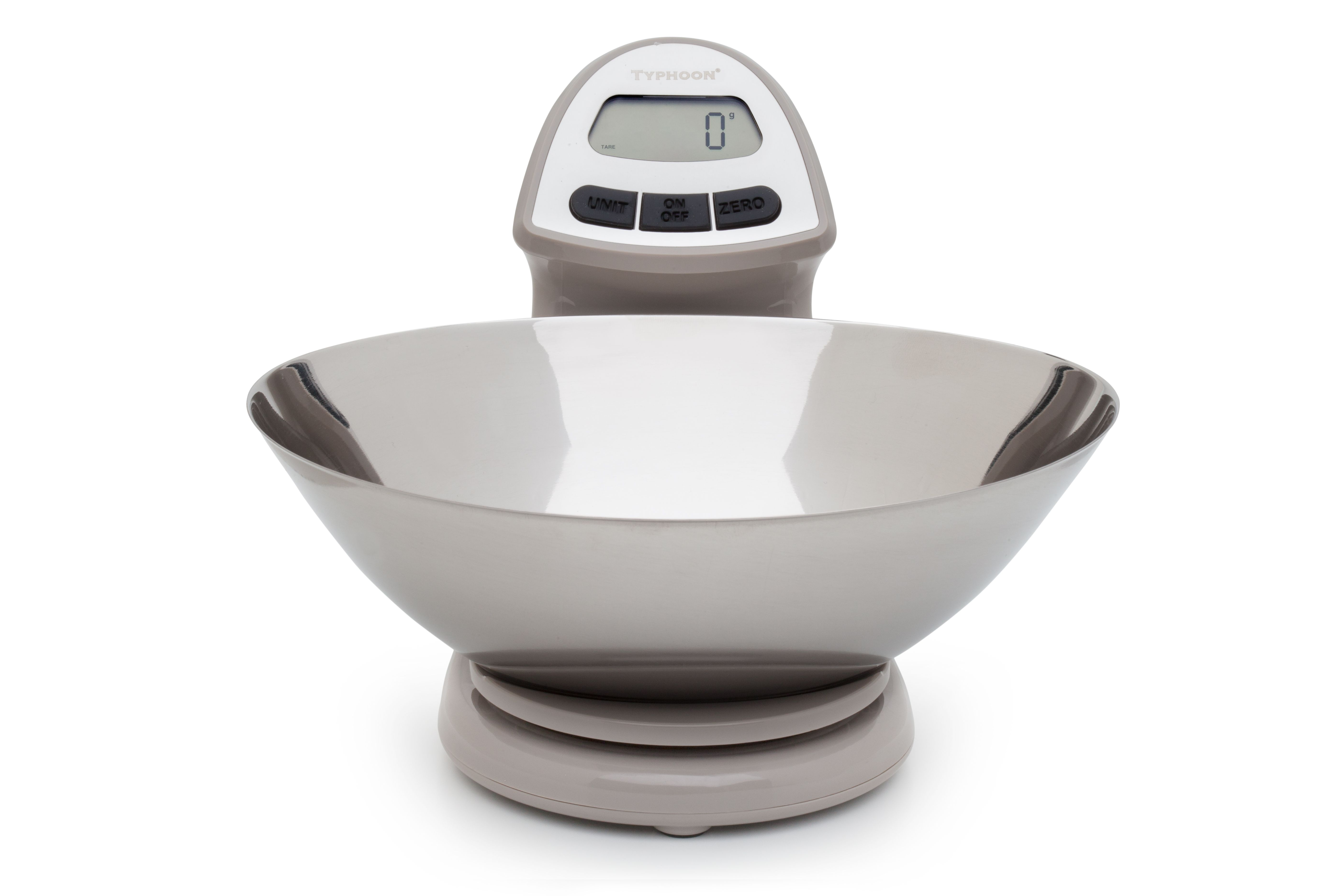 Typhoon Vision Stainless Steel Digital Food Scale  Kitchen NEW NIB WHITE