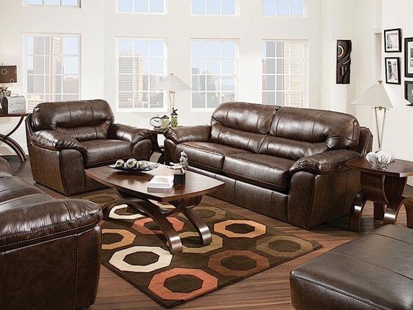 Jackson Furniture Brantley 2 Piece Queen Sleeper Sofa Set in