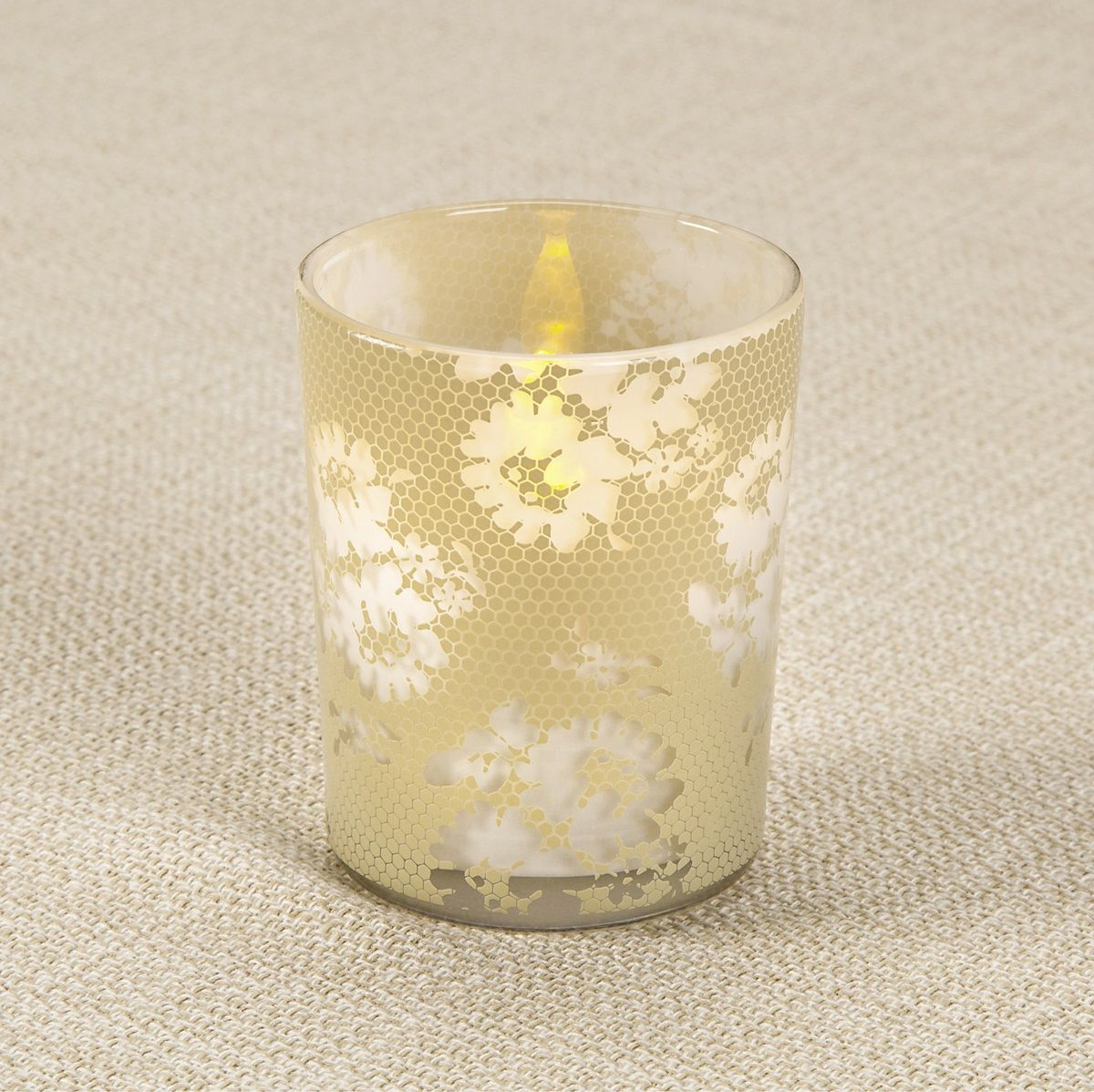 Enter to win the david tutera honeycomb lace votive holders giveaway