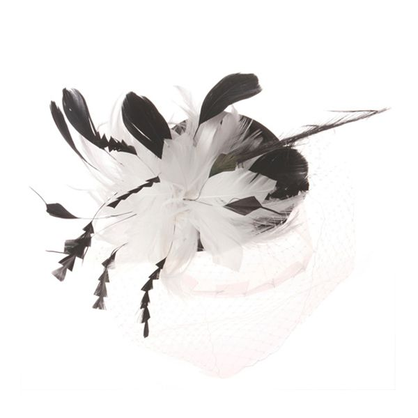 Something Special - Feather and Lace Fascinator #fascinatorstyles