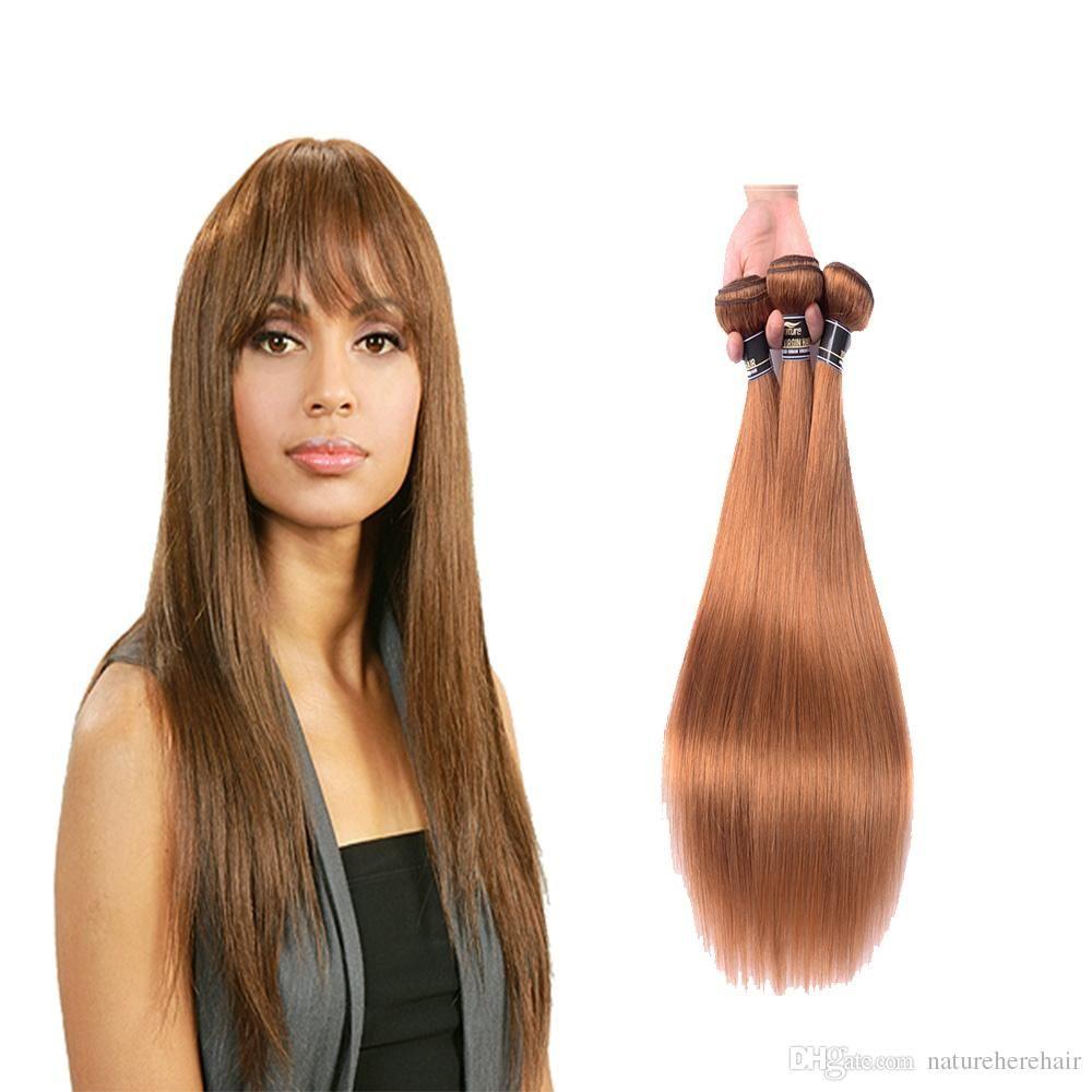 Brazilian Straight Hair Weave Bundles 100 Human Hair Extensions