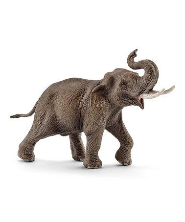 This Male Asian Elephant Figurine is perfect! #zulilyfinds