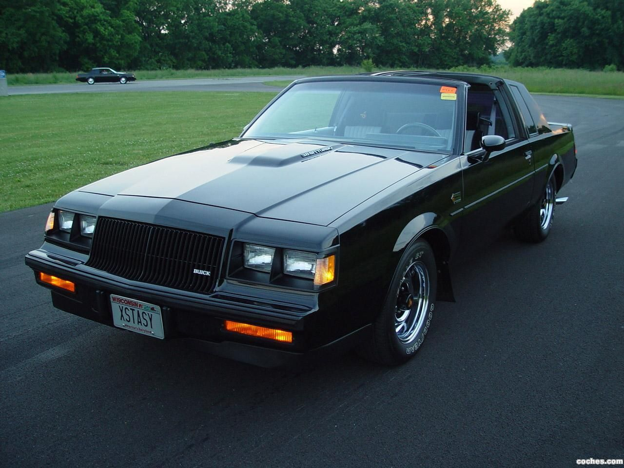 1987 buick regal grand national gnx grand national experimental produced by mclaren with a l garret turbocharged engine buick underrated the gnx at 245