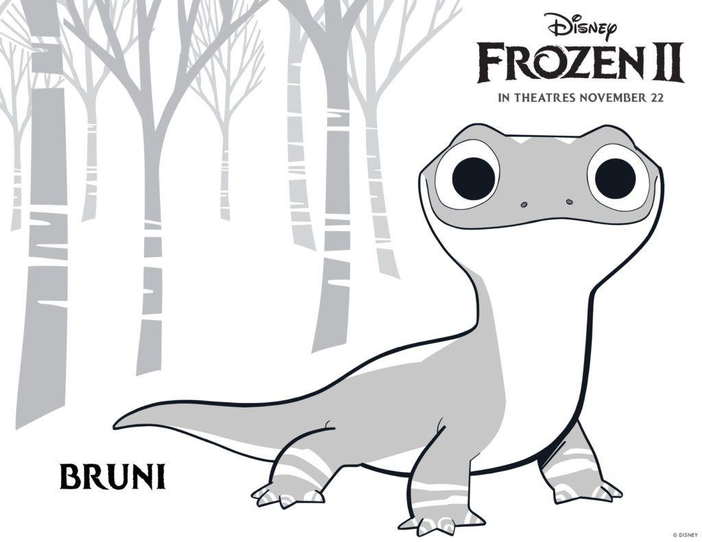Dibujos Para Colorear Y Pintar Gratis De Frozen 2 De Disney En