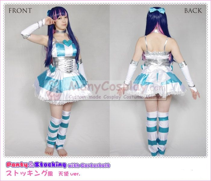 Panty Stocking With Garterbelt Stocking Anarchy Costumes Ps007 85 99 Cosplay Master Cosplay Fashion Asian Cosplay