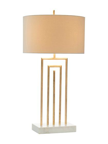 Labyrinth table lamp by john richard at gilt