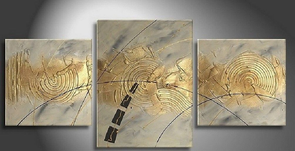 Abstract Modern Art, Dining Room Wall Art, Extra Large Painting ...