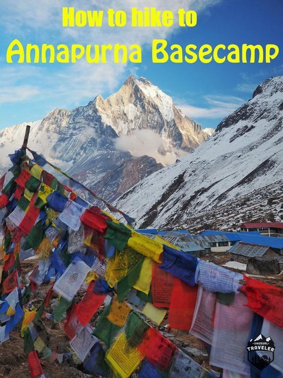 Hiking to Annapurna Basecamp