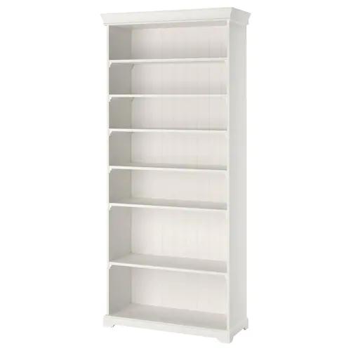 HEMNES white stain, Bookcase, 90x197 cm