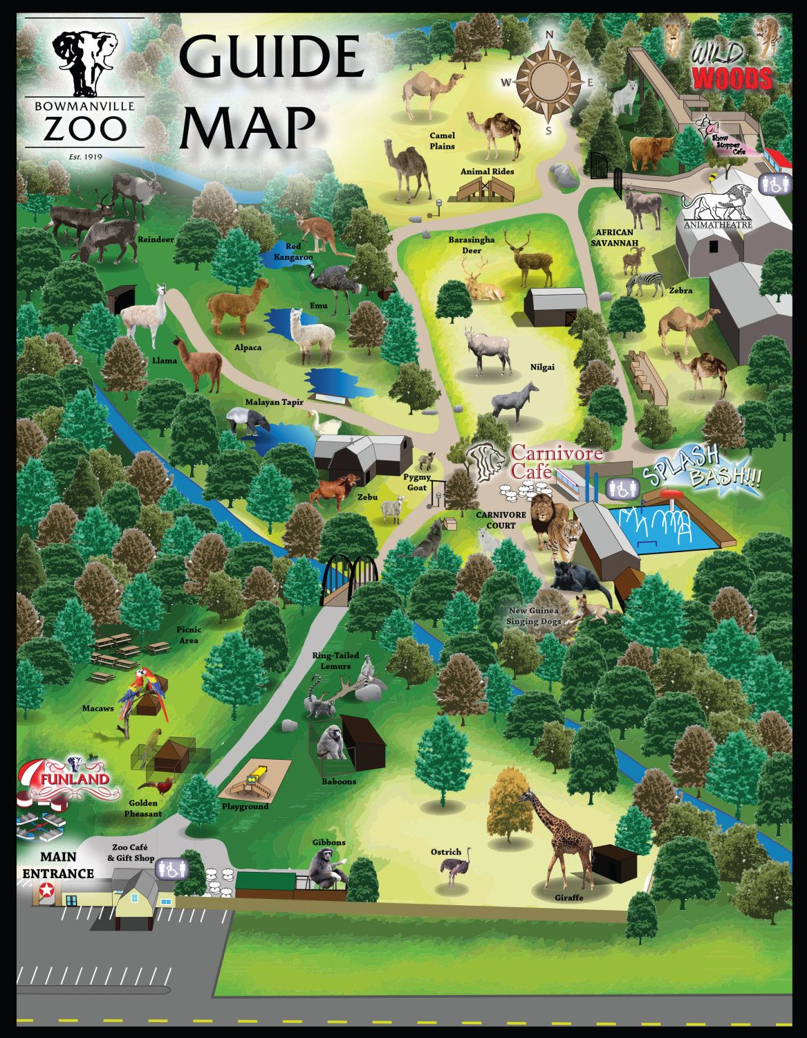 Lowry Park Zoo Florida Maps Pinterest Zoos and Park