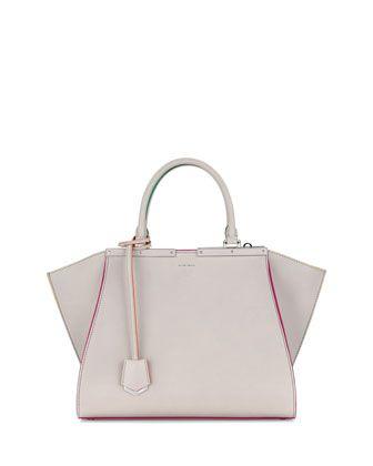 03d7dc7c1d4f Trois-Jour Petite Tricolor Tote Bag