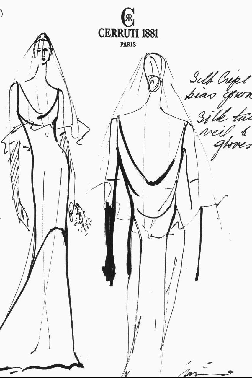 Carolyn Bessette Kennedy S Narciso Rodriguez Wedding Dress