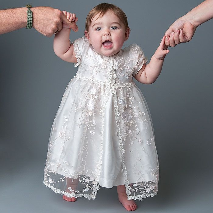 Scarlett Silk Christening Dress | Scarlett o'hara, Baptisms and Girls