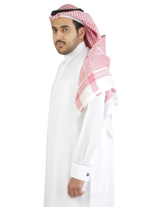 ثوب الدفة رجالي ابيض شماخ عقال قماش ابيض جلباب الدفة رجالي ابيض Fashion Formal Hijab