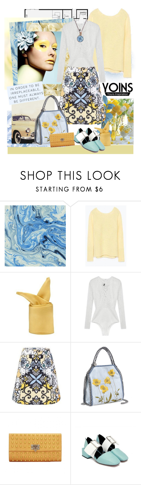 """Yoins....new 113."" by carola-corana ❤ liked on Polyvore featuring STELLA McCARTNEY, Chart Metal Works and yoins"