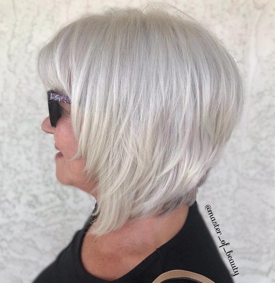 65 Gorgeous Gray Hair Styles Frisuren Graue Haare Ubergang
