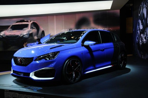 New Specs Review Peugeot 308 R Hybrid 2015 Release Side View Model