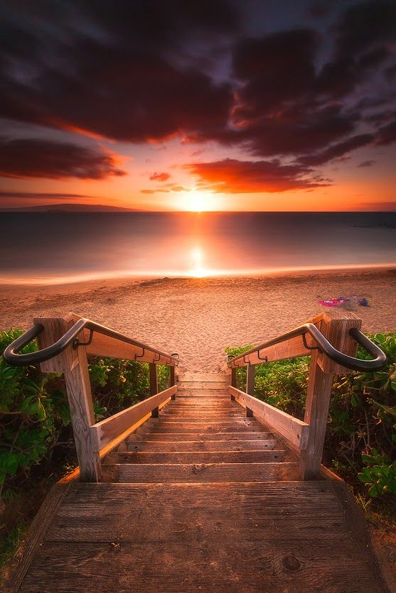 Stairway to Heaven ~ #Maui, #Hawaii  by Connor Schmidt