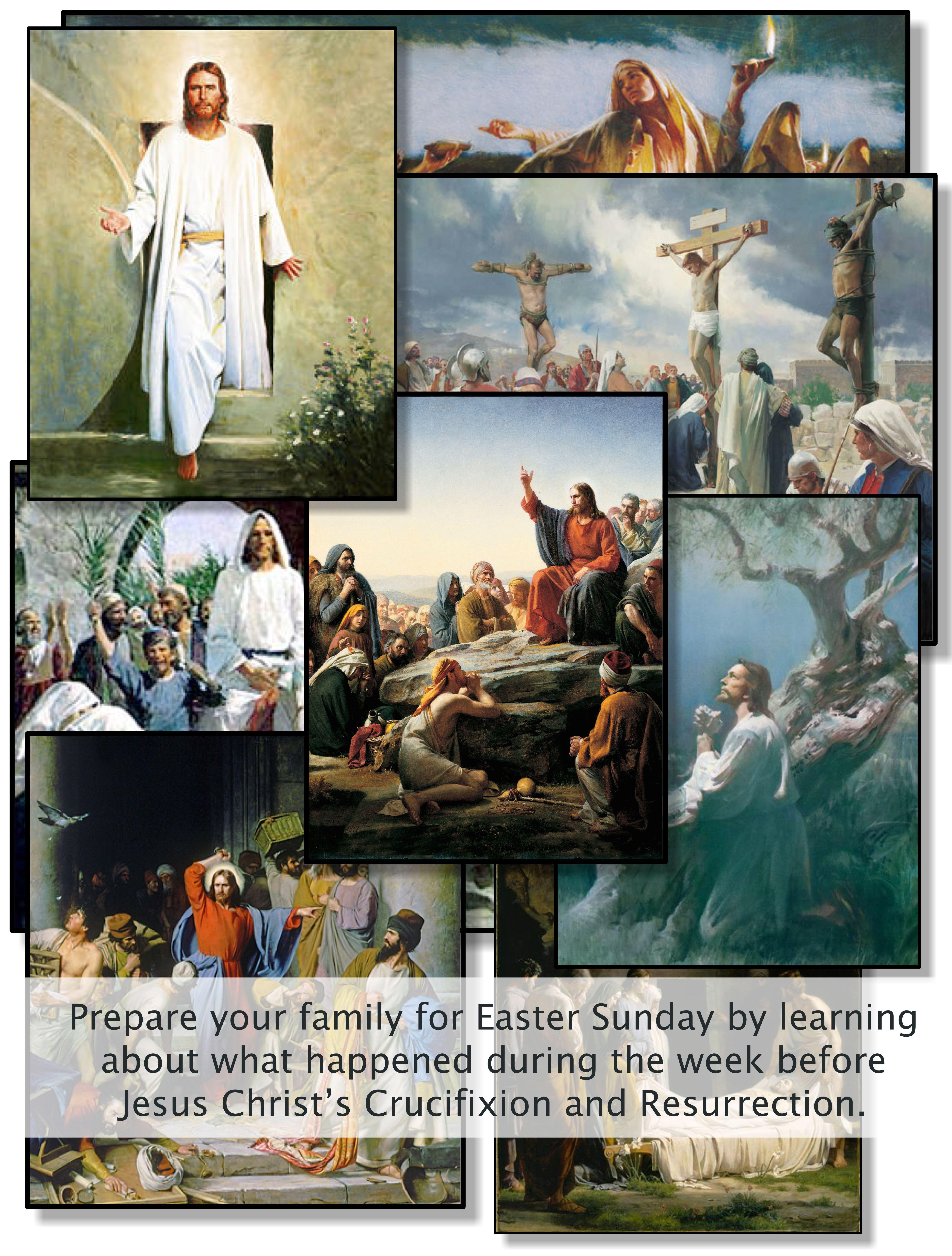 Easter Week Christ Centered Easter Easter Week Easter Lessons