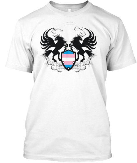 Unicorn Crest Transgender Design