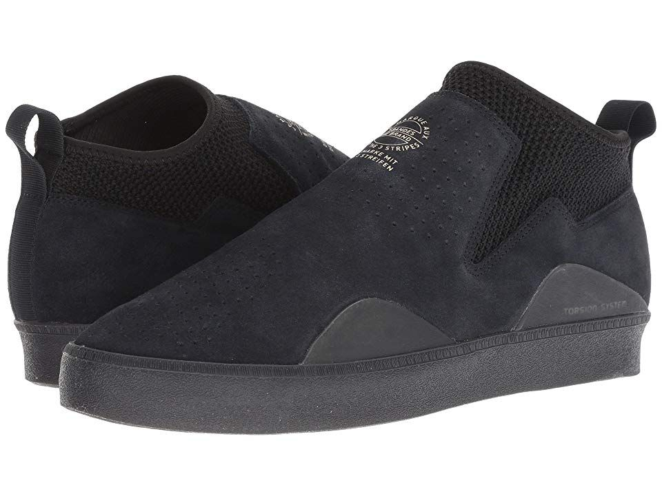 Adidas Skateboarding 3St.002 Schuhe Schwarz Licht Blau