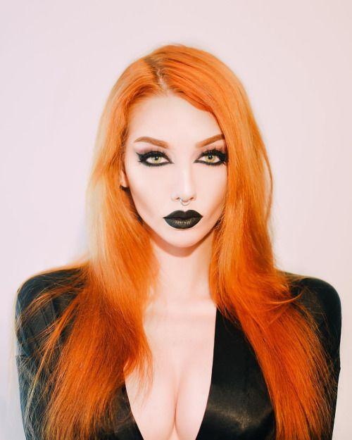 rotes haar gotische gà tica de pelo naranja witch goth nun
