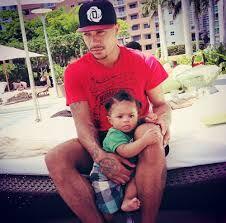 0f0d8a85718 Derrick Rose and his Son Derrick Rose Jr