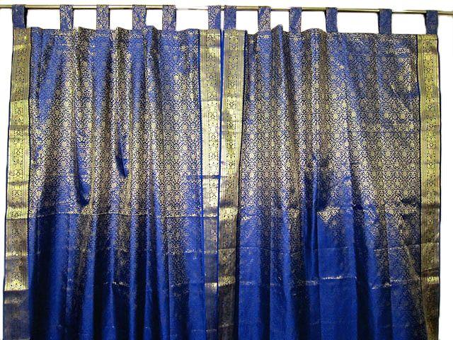 Superb For Closet   Indian Sari Curtains, Silk Sari Curtains, Indian Sari Drapes
