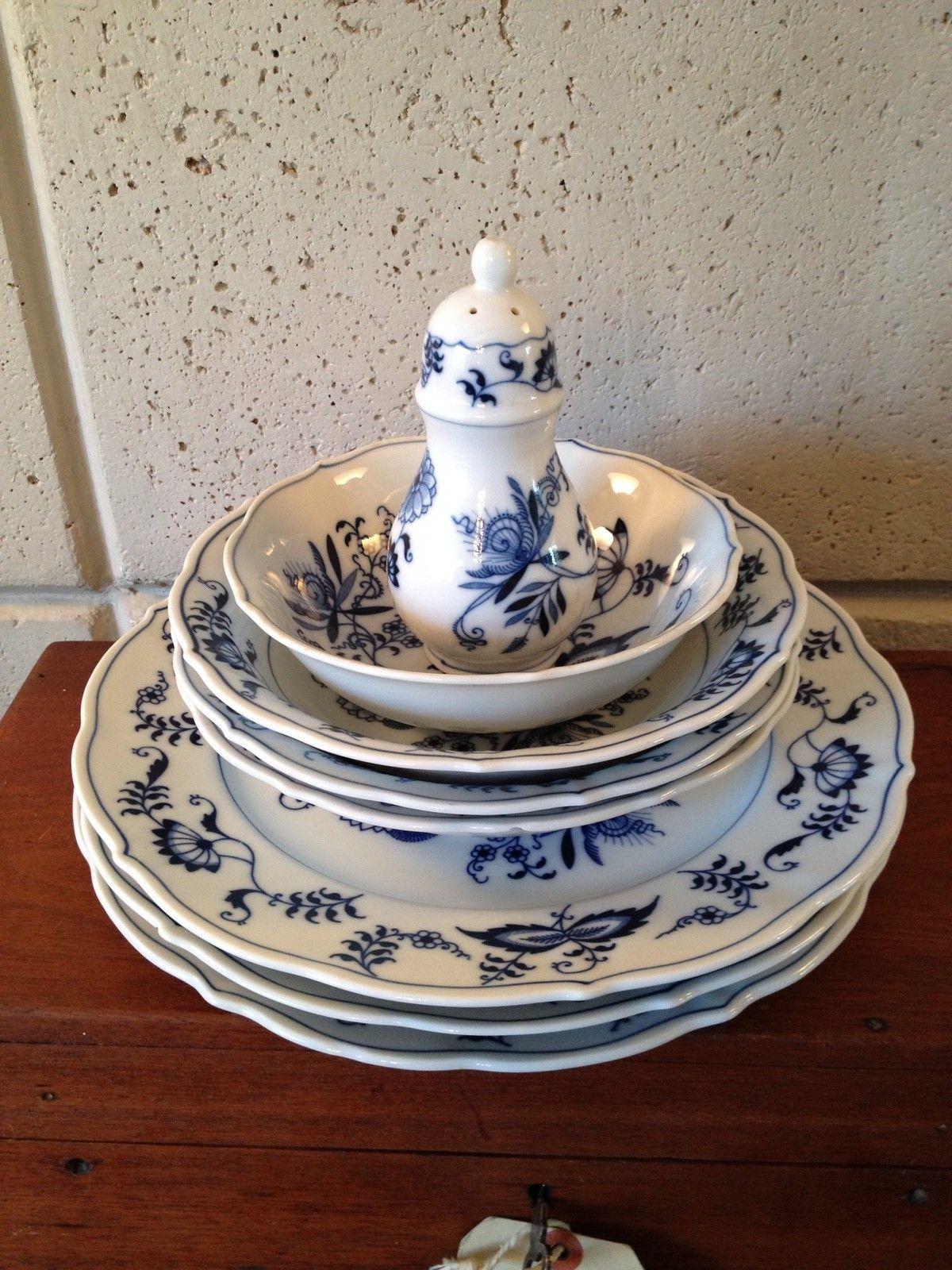 Blue Danube China Japan Misc Lot Dinner Plates Cereal Bowls Soup Salt Pepper | eBay & Blue Danube China Japan Misc Lot Dinner Plates Cereal Bowls Soup ...