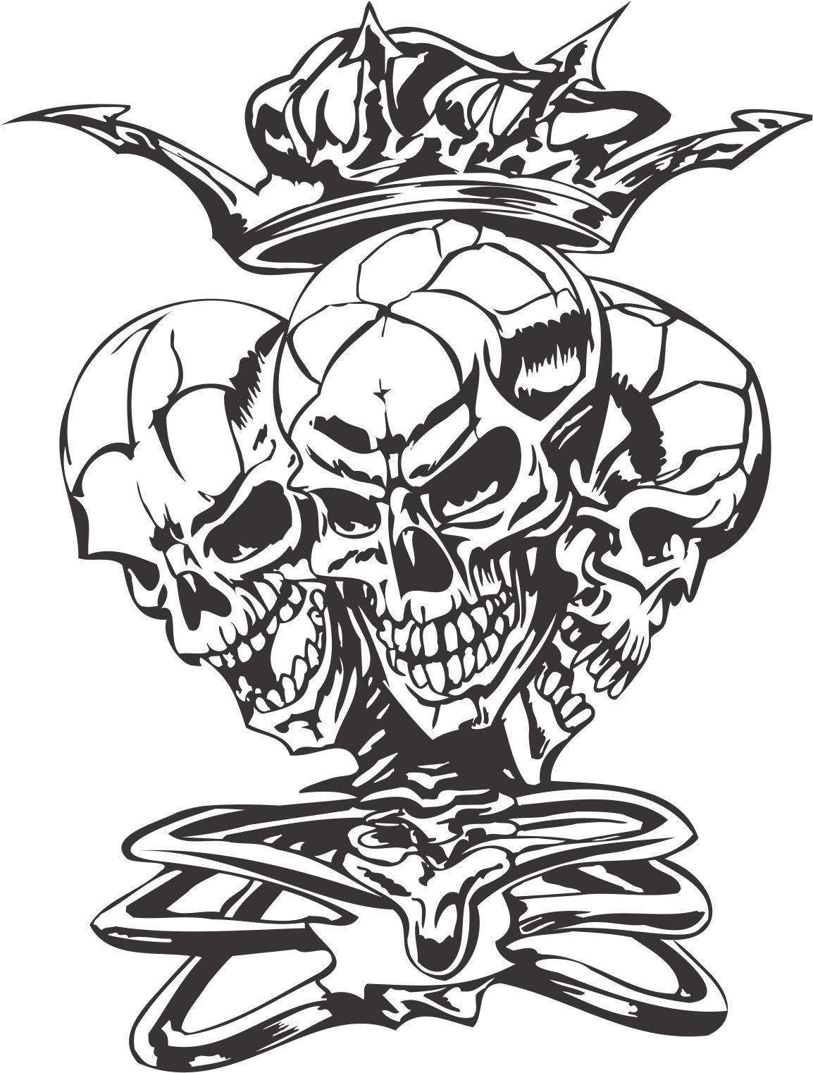Found on Bing from www.pinterest.com   Skull tattoos, Skull ...