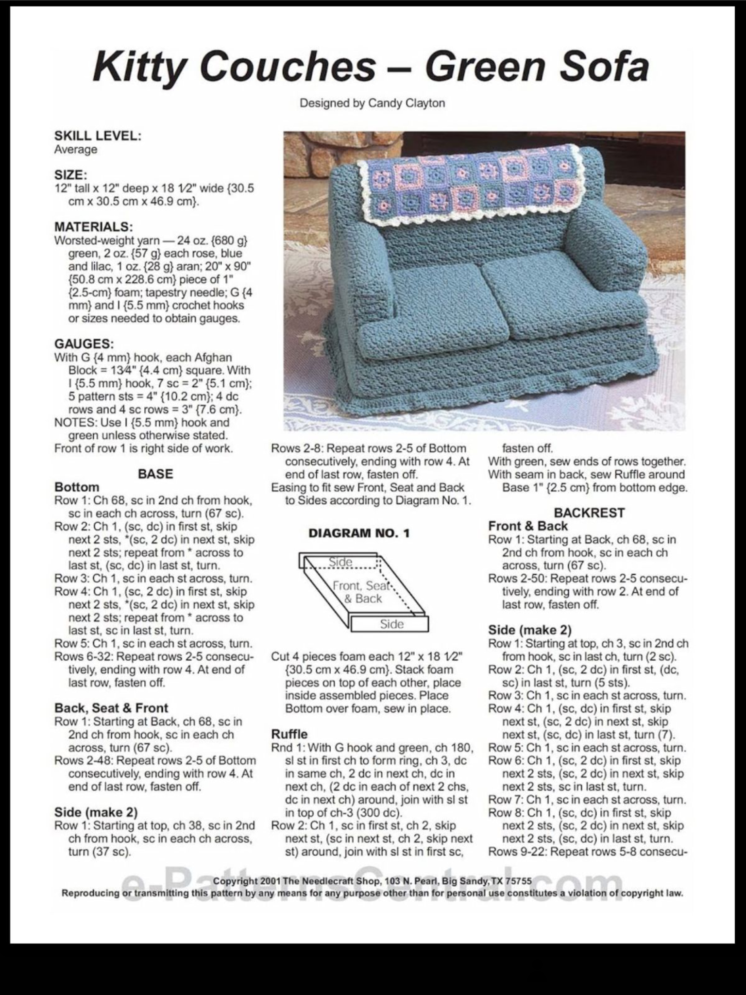 Pin By Candy On Muebles Para Barbie Crochet Crochet Projects