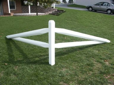 White Split Rail Fence Corner Unit Jpg 384 215 288 Diy