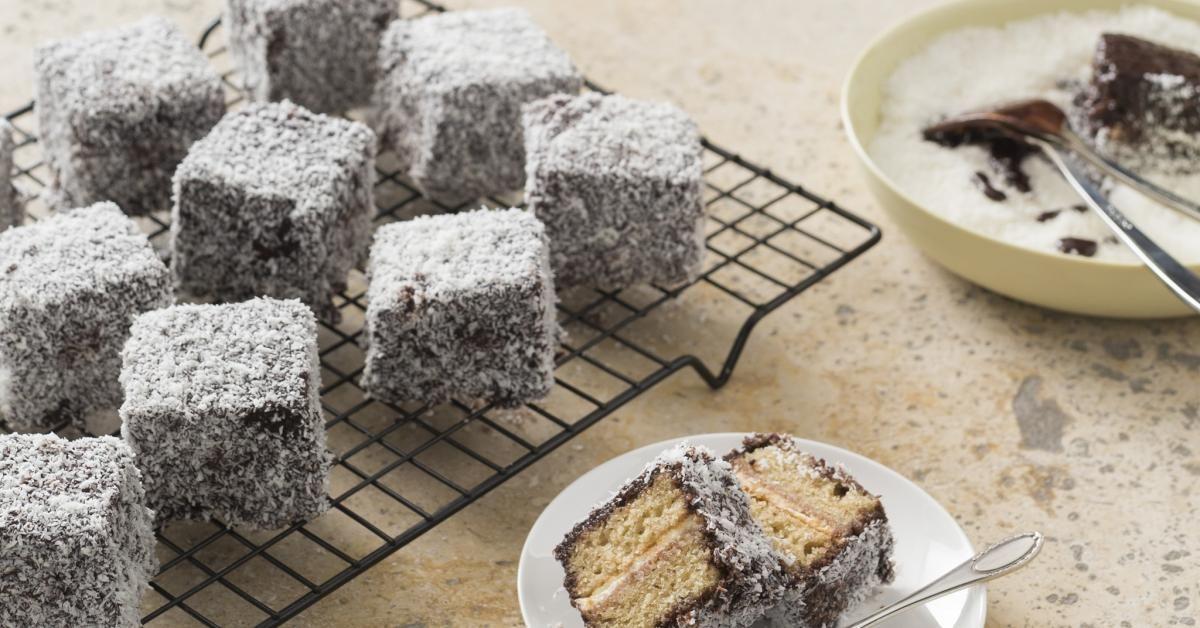 Gluten free lamingtons Recipe Thermomix recipes