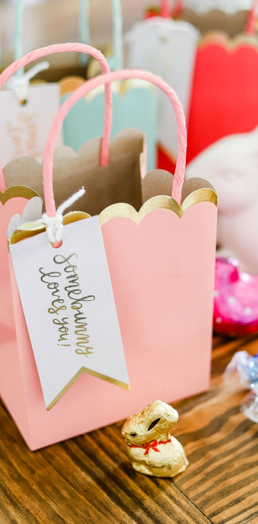 Cute Easter Basket Ideas + Easter Party Favors | Basket ideas ...