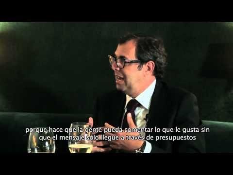 Raül Bobet, propietario de las bodegas Castell d'Encus y Luis Sans, presidente de Santa Eulalia hablan sobre los paralelismos entre el vino y la moda