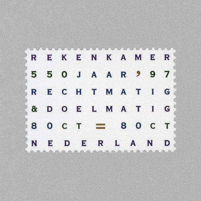 Algemene Rekenkamer. Netherlands, 1997. Design: Irma Boom http://grafiktrafik.tumblr.com