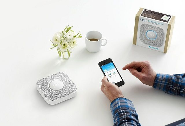 Nest Protect Smoke + Carbon Monoxide Alarm, Battery, White, S1001BW | #Nest #Safety #Security #Surveillance #HomeSecurity #HomeSurveillance #HomeSecuritySystems #FireSafety #SmokeDetectors #CarbonMonoxideDetectors #SmokeAlarms #CarbonMonoxideAlarms #HouseholdSensors #HouseholdAlarms #Alarms #Sensors #Detectors