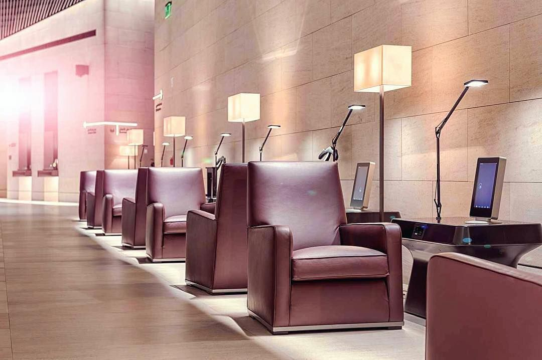 Happy st anniversary to al safwa first class lounge at doha s