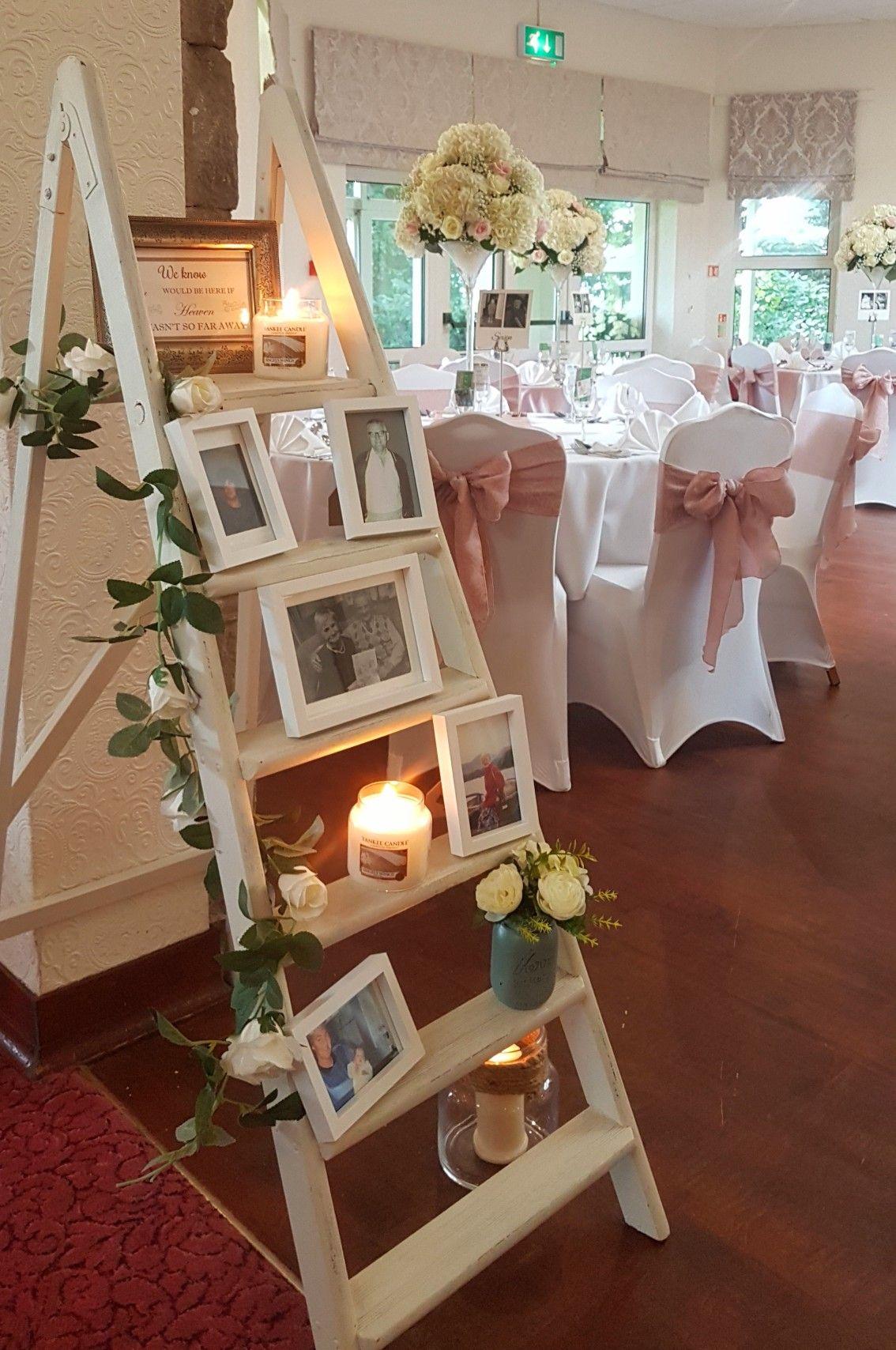 Memory Ladder Blush Wedding Ideas Pinterest Wedding