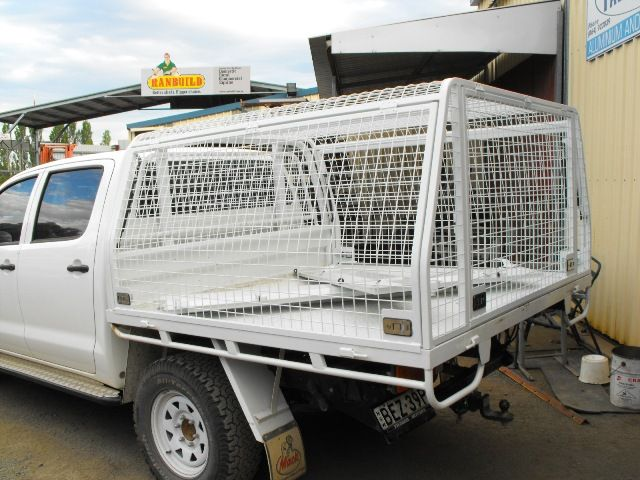 Custom Built Lockable Powdercoated Steel Mesh Canopy - Aluminium and ...