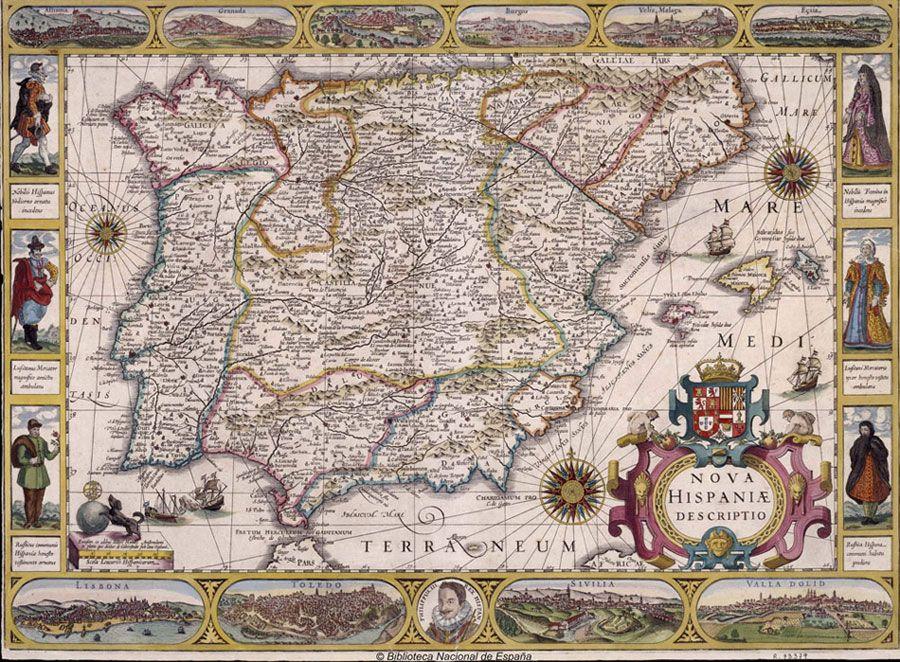 Biblioteca Nacional De Espana Mapas Antiguos Mapas Mapa De