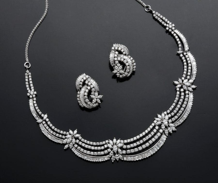 marquise diamond necklace designs - Google Search