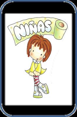 Dibujo Bano Ninos Y Ninas Para Escuelas Infantiles Carteles De